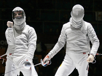 Russian fencers claim team gold at Moscow Sabre event