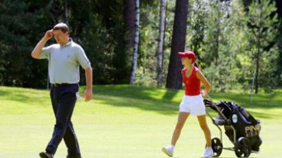 Youngsters tee up for Olympic course