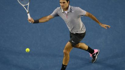 Roger Federer (AFP Photo / Manan Vatsyayana)