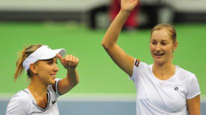 Ekaterina Makarova and Elena Vesnina (RIA Novosti / Alexey Kudenko)