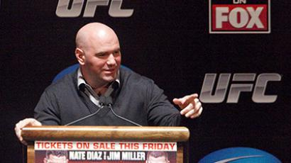 UFC president Dana White. (AFP Photo / Michael Nagle)