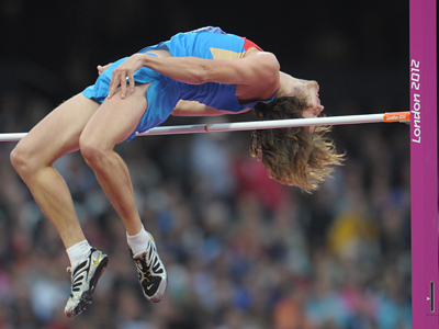 High jumper Ukhov wins Russia's tenth gold