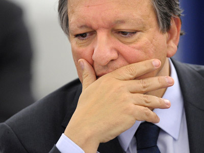 European Commission President Jose Manuel Barroso  (AFP Photo/Frederick Florini)