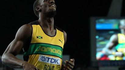 'I can never be discouraged' - Bolt