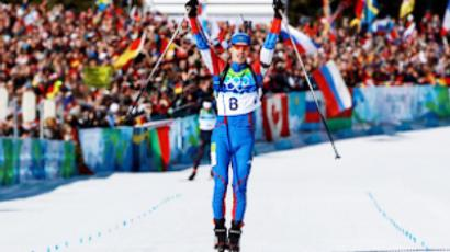 Russians claim top 2 spots in Pokljuka