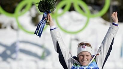 Korosteleva claims first win for Russia at Tour de Ski