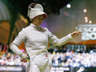 Velikaya crowned best fencer in the world