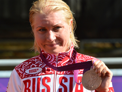 Zabelinskaya brings Russia road race bronze