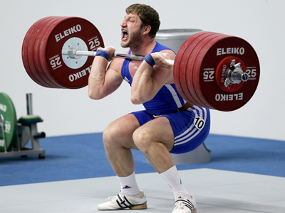 Russian weightlifting on rise ahead of London Olympics