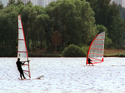 Windsurfing survives as Olympic discipline