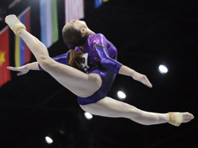 Wunderkind Mustafina wins second gold for Russia at World Gymnastics