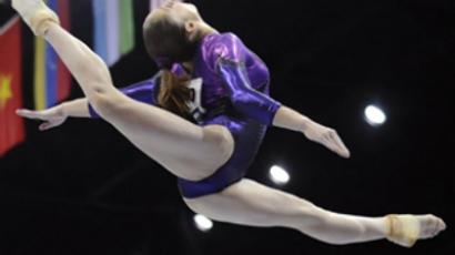 Rhythmic gymnastics – a hard routine for delicate girls