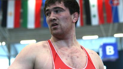 Russia's Bakhtiyar Akhmedov won in the most prestigeous 120K category (RIA Novosti / Said Tzarnaev)