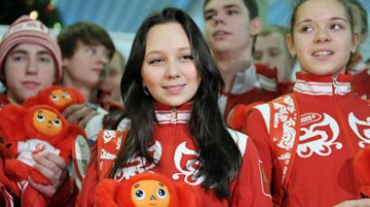 Russian Youth Olympians return home