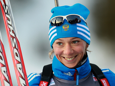 Zaitseva brings Russia first gold in Biathlon World Cup