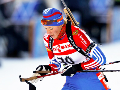 Russia grabs first gold of biathlon season