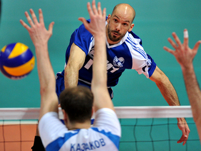 Zenit Kazan have been crowned Russian volleyball champions (RIA Novosti / Alexander Vilf)