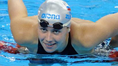 Efimova brings Russia second medal of the day
