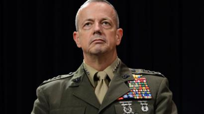 Newly appointed Supreme Allied Commander in Europe (SACEUR) US General John Allen (AFP Photo / Thierry Charlier)