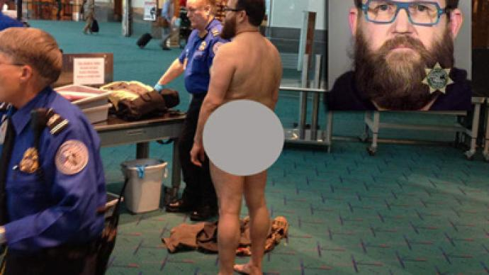 Agitated Airport Patron Strips Naked To Protest Tsa Rt