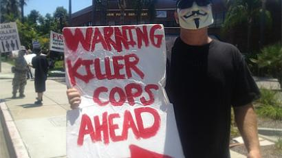 Anaheim police kill another man, cops filmed firing on women & children at protest (PHOTOS, VIDEO)