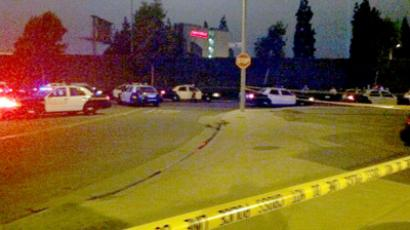 Anaheim police shoot dead another man (Image from Twitter/@amberjamie99pct)