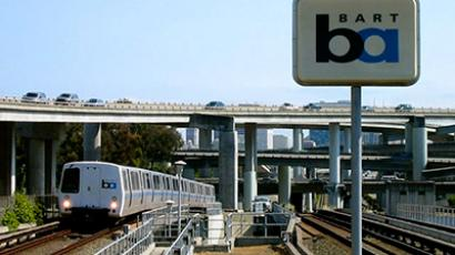 Anonymous-led protest against BART becomes violent