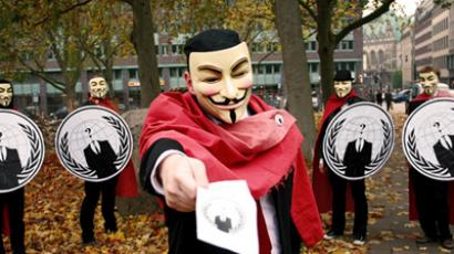 Anonymous declares cyber war on Congress over indefinite detention act