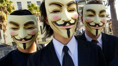 Anonymous attention grab - hack 'the brothers'