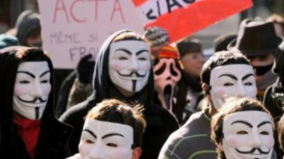 Anonymous geek-topia: Hackers change Hungarian constitution