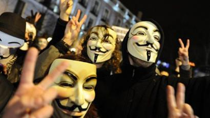 Anonymous downs government, music industry sites in largest attack ever