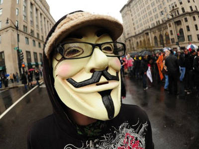 Anonymous attacking creators of indefinite detention bill