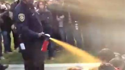 UC Davis pepper-spray cop finally off the force