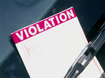 Congressman racks up parking fines.