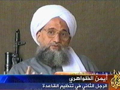 Ayman al-Zawahri (Al-Jazeera / AFP)