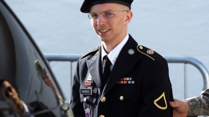 U.S. Army Private Bradley Manning (AFP Photo / Alex Wong)