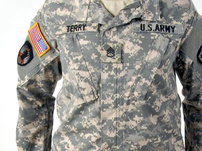 The women's Army Combat Uniform (Photo from http://www.army.mil)