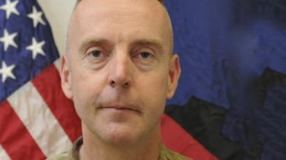 Handout photo of Brigadier General Jeffrey Sinclair. (Reuters)