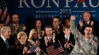 Ron Paul wins support of the military while Obama cashes in on war-profiteers