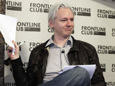 WikiLeaks founder Julian Assange (Reuters/Finbarr O'Reilly)