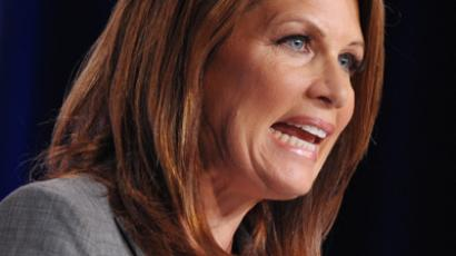 Michele Bachmann (AFP Photo / Mandel Ngan)