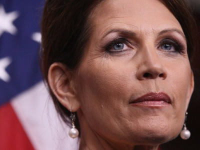 Bachmann takes the lead in Iowa polls