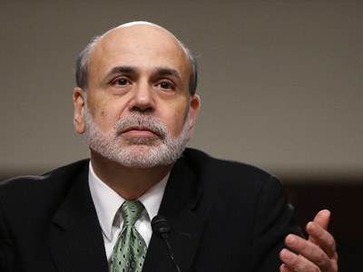 Federal Reserve Board Chairman Ben Bernanke (Win McNamee/Getty Images/AFP)