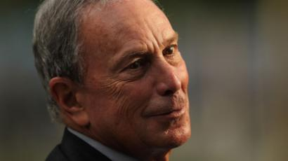 New York City Mayor Michael Bloomberg (AFP Photo / Spencer Platt)