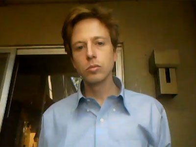 Screenshot from YouTube user Barrett Brown