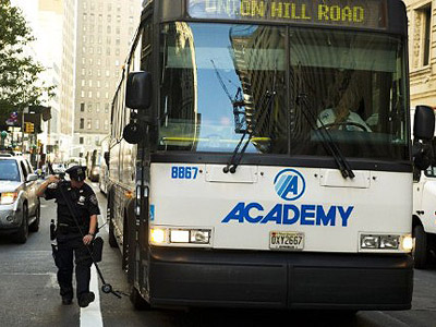 Bus drivers want to keep the NYPD off their vehicles