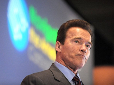 Arnold Schwarzenegger (AFP Photo / Robin Beck)