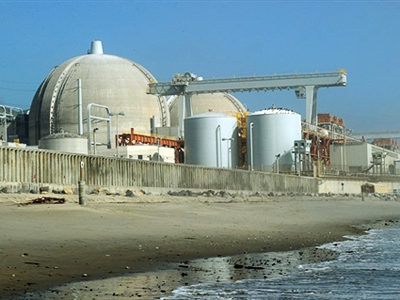 View of the San Onofre Nuclear Power Plant in north San Diego County on March 15, 2011 (AFP Photo / Mark Ralston)