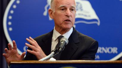 California Gov. Jerry Brown (AFP Photo / Kevork Djansezian)