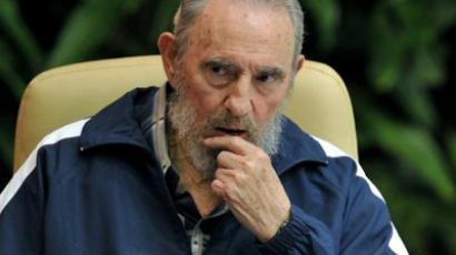 Fidel Castro (AFP Photo / Adalberto Rooue)